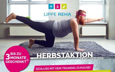 Lippe Reha: Bis zu drei Monate kostenlos trainieren